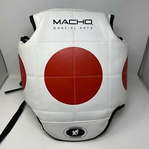 Macho Martial Arts Reversible Chest Gear Protector / Hogu   Youth Size 5