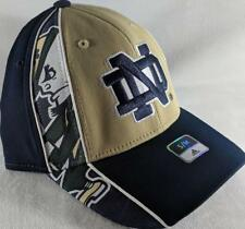 LZ Adidas Adult Fitted S/M Notre Dame Fighting Irish Baseball Hat Cap NEW D46