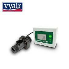 """VYAIR Digital LCD Water Flow Meter (Count Up) 1.5 - 25.0 L/Min: 1/2"""" BSP Male"""