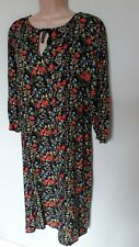 LOVELY SUMMER  SHIFT DRESS IN MULTI COLOURED FLORAL LOOSE FITTING SIZE 18