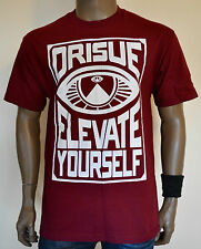 ORISUE The Providence Crewneck T-Shirt Red illuminati Karma Loop S-M