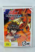Bakugan: Battle Brawlers (Vol 1) - Region4 DVD - BRAND NEW