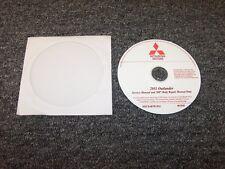 2011 Mitsubishi Outlander Shop Service Repair Manual DVD ES SE XLS GT 2.4L 3.0L