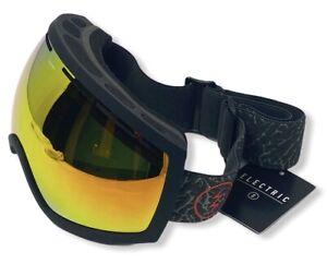 Electric Unisex EG2 Snowboard Ski Goggles - Bronze/Red Chrome Lens