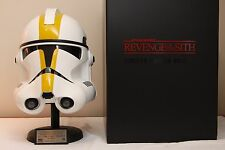Star Wars MASTER REPLICA Revenge of the Sith clone trooper helmet first edition