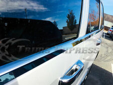 2005-2010 Jeep Grand Cherokee Laredo 4Pc Chrome Window Sill Trim Stainless Steel