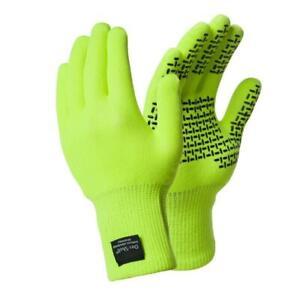 Dexshell Touchfit Hi-Vis Waterproof & Breathable Gloves - Medium Size 8