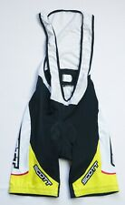 Vermac Sport Scott Cycling Bib shorts men size Large yellow BIKE WEAR PADDED