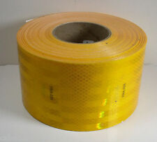 "3M 983-71 FRA-224 Diamond Grade Conspicuity Marking Yellow 4"" x 50 Yd. 18"" Cuts"