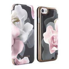 Official TED BAKER AW16 KNOWANE Mirror Folio Case for iPhone 8, 7, 6S - PORCE...