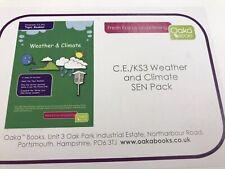 Weather & Climate SEN Pack • C.E,/KS3 • Oaka Books