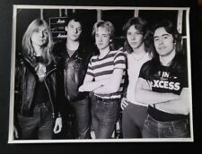 IRON MAIDEN EARLY ORIGINAL PHOTO PAUL DI'ANNO Killers dianno nwobhm Signed