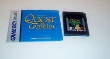 Quest for Camelot Game Boy ,color