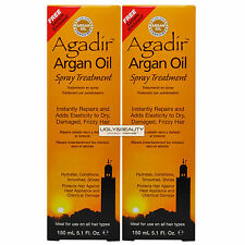 "Agadir Argan Oil Spray Treatment 150 mL / 5.1 Fl. Oz. ""Pack of 2"""