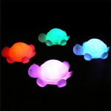 1x Tortue LED 7 Couleurs Lumière Chevet Veilleuse LED Lampe Pour Enfant Chambre