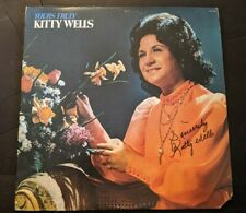 KITTY WELLS Authentic Autographed YOURS TRULY 1973 MCA Vinyl LP NM/VG