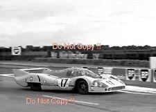 Jo Siffert & Derek Bell Gulf Porsche 917 LH Le Mans 1971 Photograph 2
