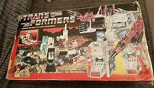 Hasbro G1 transformateurs héroïque Autobot Bataille Station Metroplex 1985 Jouet Coffret