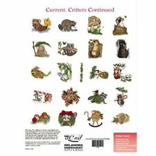 OESD Embroidery Machine Designs CD CURRENT CRITTERS CONTINUED