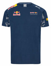 Red Bull Racing 2016 Official Teamline Medium Size T-Shirt - Navy Blue