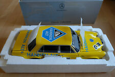 1:18 Minichamps Mercedes Benz 300 SEL 6.8 AMG gelb, Saisonfinale 1971 Hannen Alt