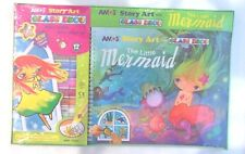 AMOS - Story Art & Glass Deco - THE LITTLE MERMAID - 12 Colors Craft Kit