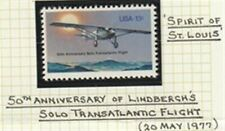 US 1977  SPIRIT OF St LOUIS 13 CENT AIR MAIL COMMEMORATIVE STAMP MNH