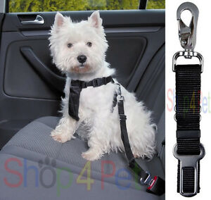 TRAVEL Dog Harness TRIXIE CAR & WALKING WITH SEATBELT LEAD FOR PET 5 SIZES