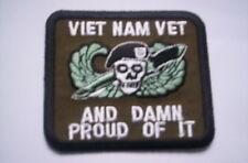 Aus  USA   VIET NAM  VET  and  Damm proud  of  it  ca  8x6,5 cm