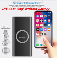 2IN1 Qi Wireless External Battery Charger 100000mAh PowerBank For iPhone Samsung
