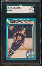1979/80 O-PEE-CHEE WAYNE GRETZKY  SGC 82 EX/MT+ 6.5  OILERS #18  ROOKIE CARD