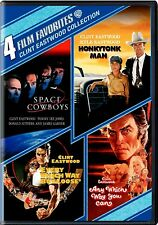 NEW DVD // EASTWOOD - SPACE COWBOYS + HONKYTONK MAN + EVERY WHICH WAY + ANY WHIC