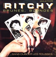 """Ritchy 12"""" Brunes, Blondes Sans Oublier Les Rousses - Promo - France (VG/EX)"""