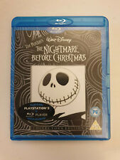 Nightmare Before Christmas Blu Ray Very Good Condition Disney Tim Burton