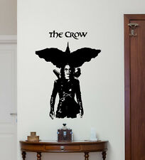 The Crow Wall Decal Movie Vinyl Sticker Bedroom Living Room Decor Poster 227zzz