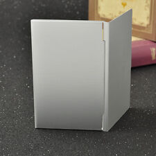 Silver Metal Aluminium Business ID Credit Card Fine Case Box Holder Pocket JT15