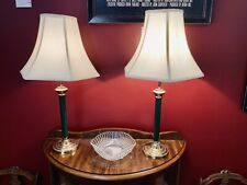 Green Art Deco Table Lamps