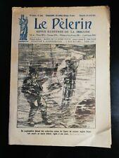 N101 Le Pèlerin N 2404 22 avril 1923 un scaphandrier recherche épave croiseur