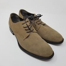 Franklin and Freeman men's oxford shoes brown size 8 Wright leather buck derby