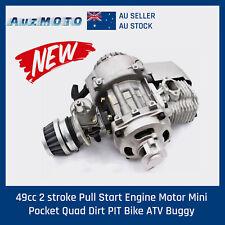 49cc 2 stroke Pull Start Engine Motor Mini Pocket Quad Dirt PIT Bike ATV Buggy