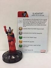 Marvel HeroClix Gladiator 040 Figure w/ Card C01