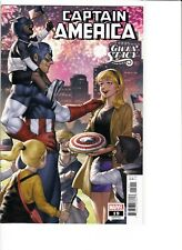 CAPTAIN AMERICA#19 VARIANT EDITION COVER.