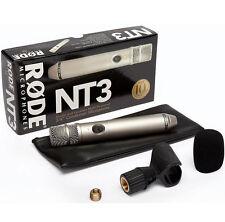 Rode NT3 Nieren Kondensatormikrofon