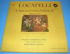 HEAR STEREO 3LPs VOX SVBX-541 LOCATELLI THE ART OF THE VIOLIN VOL 2 LAUTENBACHER