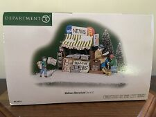 """Dept. 56 Christmas In The City """"Midtown Newsstand� New!"""