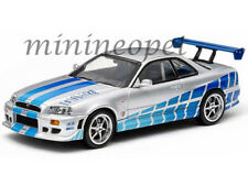 GREENLIGHT 86208 2003 FAST AND FURIOUS 1999 NISSAN SKYLINE GTR 1:43 PAUL WALKER
