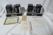 McIntosh MC30 Amplifier Tube Mono Blocks  **Serviced**  (Pair) Amps