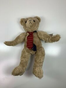 NWT Collectible Theodore Roosevelt Teddy Bear Hallmark 1997 Moveable Joints