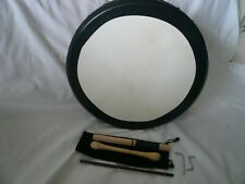 """Nice 16""""x 5"""" Tunable Bodhran with Bag and Tippers"""