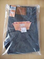 Jeans Mens Levis 501 Original Fit Jeans 00501-2116 Grey 29W 34L New Sealed +Tags